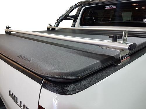 barra + parrilla porta equipaje alum amarok ranger hilux s10
