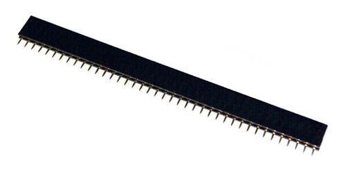 barra pino femea macho 40 pinos (2.54mm) (10 unid) oem