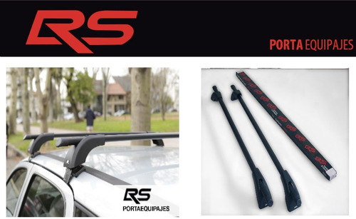 barra porta equipajes auto portaequipaje autos onix prisma