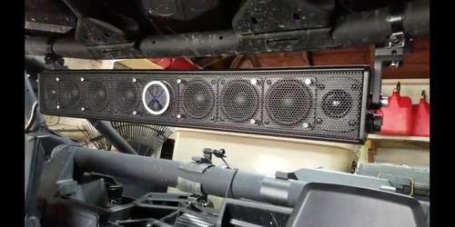 barra powerbass xl-1000 800w 85cm marino rzr can am bluetooh