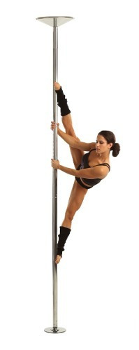 barra profesional pole dance fitness portatil fijo-giratorio