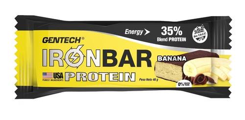 barra proteina iron bar gentech x 7 unid sin tacc
