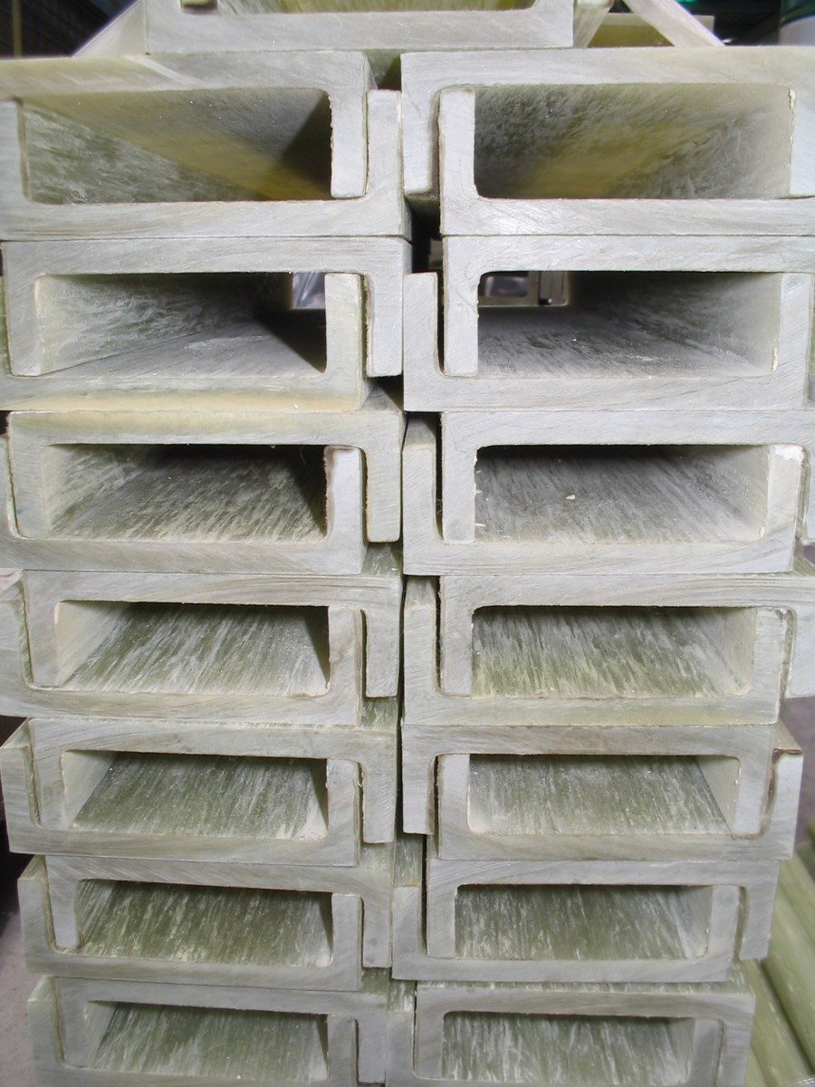 Barra redonda de epoxi fibra de vidrio pultrusion perfiles - Tubos fibra de vidrio ...