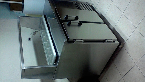 barra refrigerada  tipo subway
