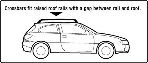 barra rieles transversal superior de techo de aluminio,llave