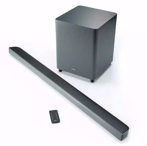 barra sonido para tv leeco bluetooth subwoofer inalambrico