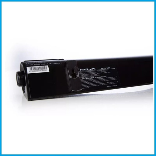 barra sonido parlante kelyx klsb-800 estereo aux usb bluetooth pc tv + control remoto