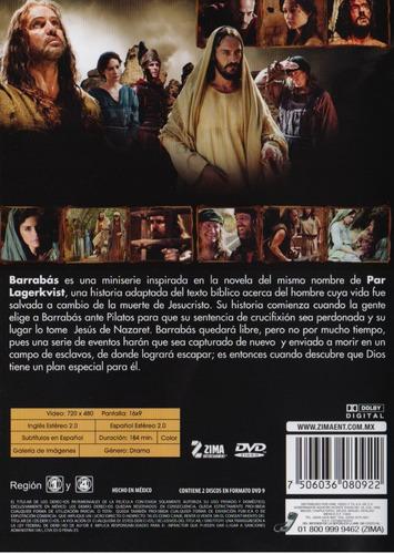 barrabas 2012 la serie completa dvd