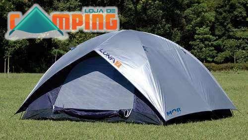 barraca acampamento camping 6 pessoas impermeável + lanterna