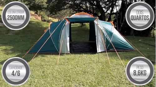 barraca ampla com 2 quartos 4/6 pessoas explorer gt nautika