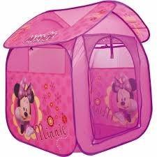 barraca cabana infantil portátil casa minnie - zippy toys