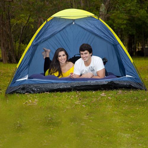 barraca camping acampamento iglu 2 pessoas mor