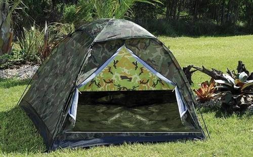 barraca camping  camuflada militar 6 lugares - melhor preço!