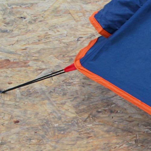 barraca camping falcon 2p iglu - nautika + nf + garantia