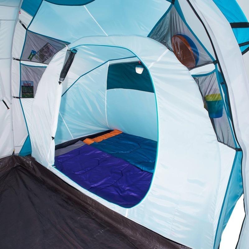 4f9aa6eff barraca camping familia impermeável 4 pessoas gazebo arpenaz. Carregando  zoom.