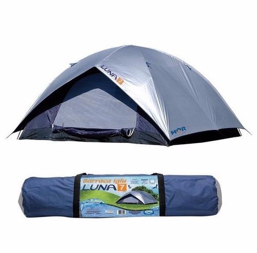 barraca camping iglu luna 7 pessoas - mor