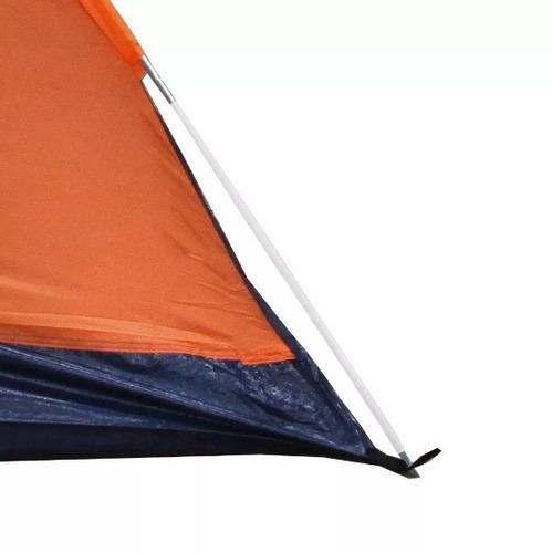 barraca camping impermeavel nautika 2 pessoas iglu alta