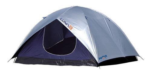 barraca camping mor iglu luna 6 pessoas 2,6x1,65 impermeável