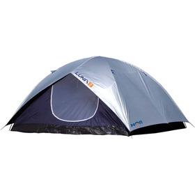 Barraca Camping P/ 7 Pessoas Com Sobreteto E Proteção Solar