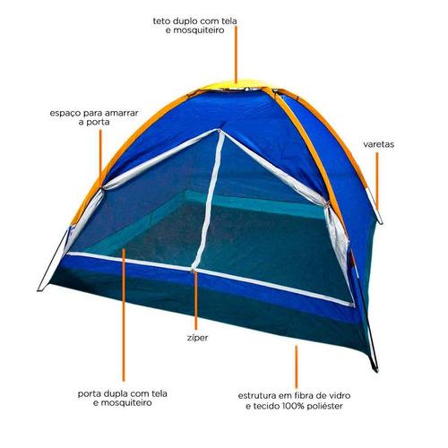 barraca camping pessoas iglu