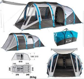 23b92c4cb9779 Quechua Tente T6.3 Xl Air Usado no Mercado Livre Brasil