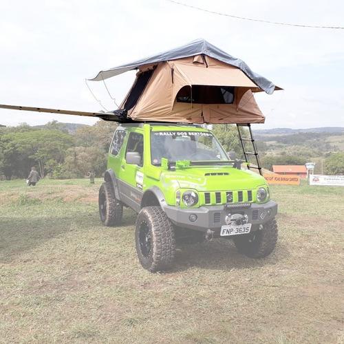 barraca compacta camping bagageiro rack teto carro 4 pessoas