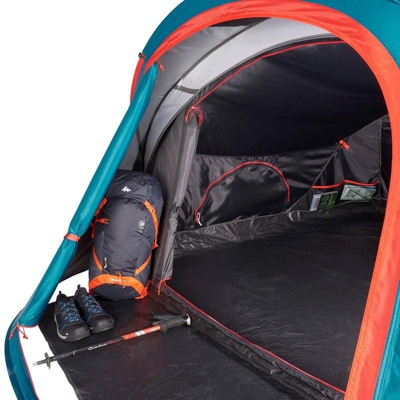 buy popular 8690f 37204 Barraca De Camping 2 Seconds 3xl Fresh & Black   3 Pessoas