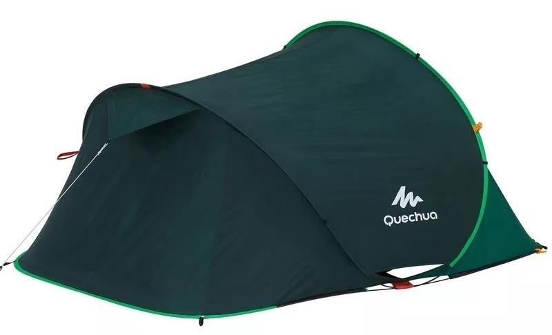 bea485bb6 Barraca De Camping 2 Seconds Easy 2 ( 2 Pessoas ) Verde - R  410