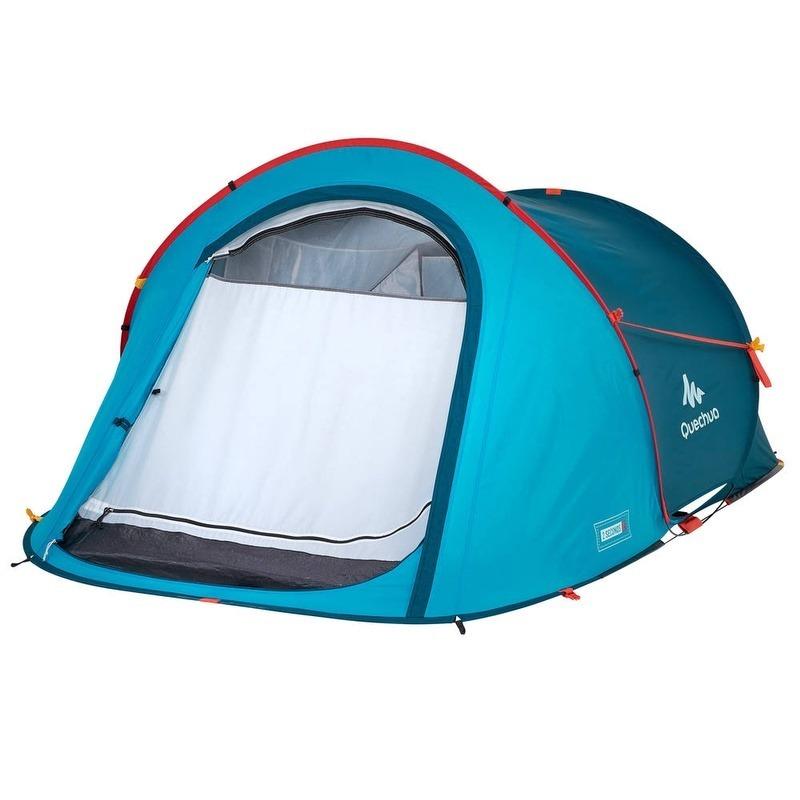 400417509 barraca de camping 2 seconds easy 2 pessoas azul. Carregando zoom.