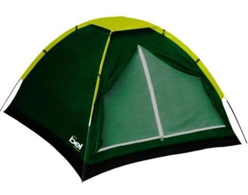barraca de camping bel lazer iglu p/ 2 pessoas leve compacta