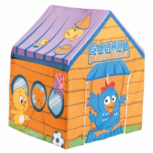barraca e cabana toca infantil galinha pintadinha p/ criança
