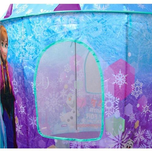 barraca frozen castelo toca casa infantil disney anna elsa