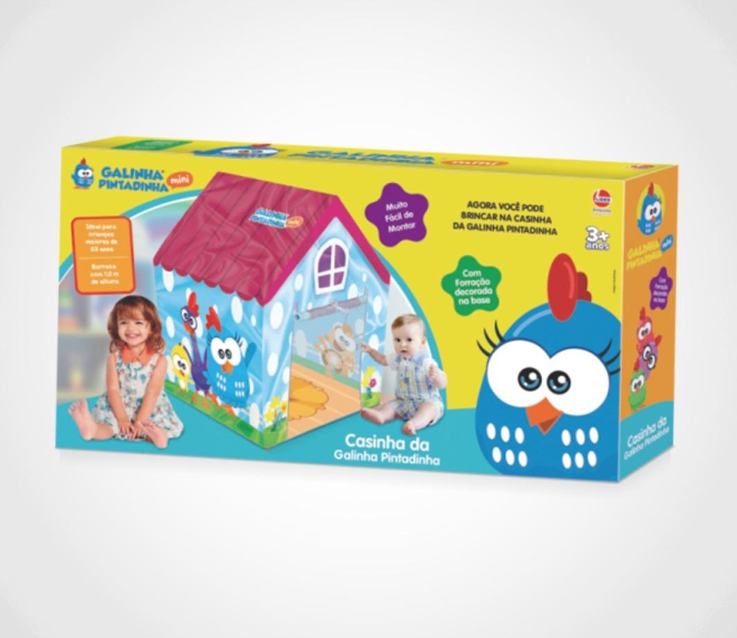 barraca galinha pintadinha cabana toca infantil - lider. Carregando zoom. 7d7df5d4992