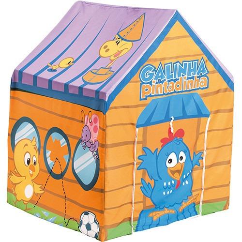 barraca galinha pintadinha toca casinha original criança