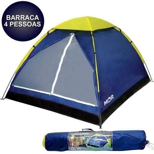 barraca iglu 4 pessoas camping mor + fácil de montar