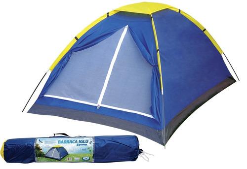 barraca iglu 4 pessoas p/ camping iglu mor entrega rápida