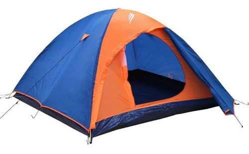 barraca iglu falcon sobreteto 2 pessoas nautika azul laranja