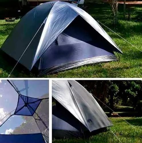 barraca impermeável luna 4 lugares pessoas camping mor