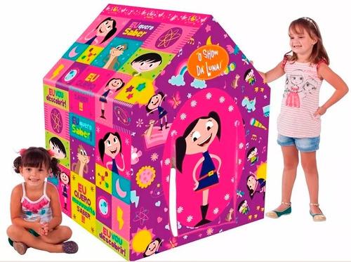 barraca infantil casinha toca show da luna multibrink c/ nf