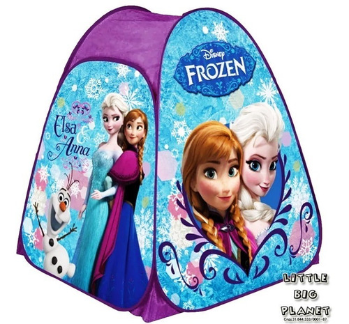 barraca infantil frozen portátil postagem rápide c nota fisc