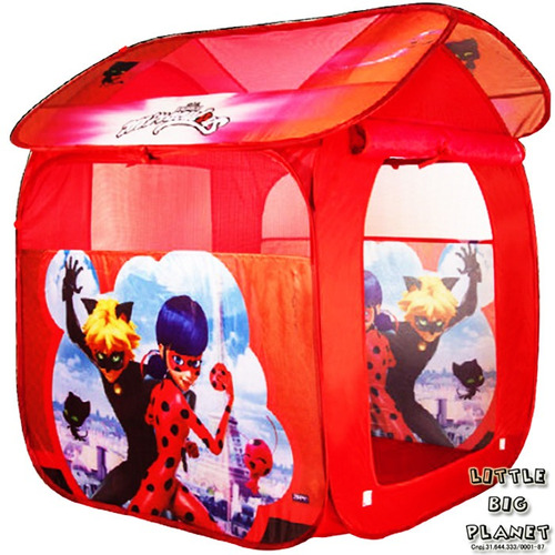 barraca infantil miraculous ladybug post. rápida nota fiscal