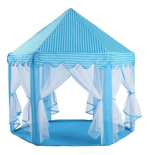 barraca infantil tenda cabana com veu para noite  do pijama