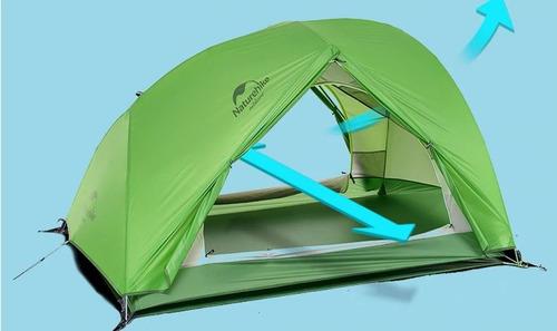 barraca naturehike 4 temporada tenda ultraleve 2 pessoas
