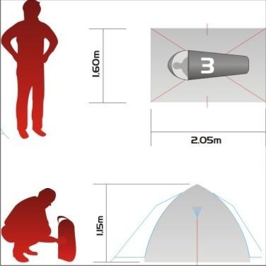 barraca nautika pessoas camping