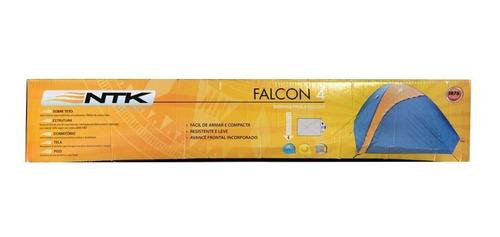 barraca para 2 pessoas nautika falcon camping - frete grátis