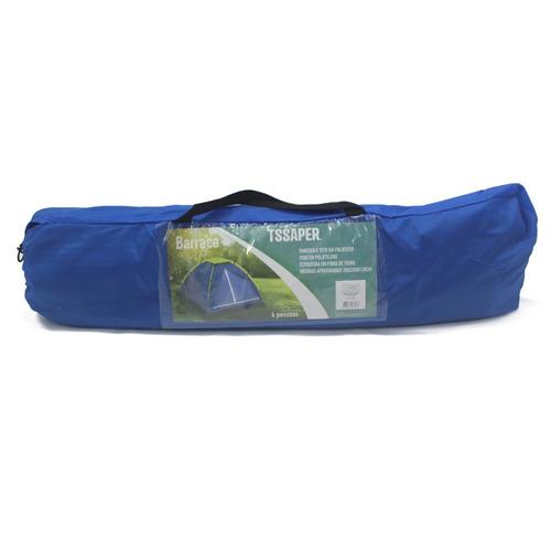 barraca para 4 pessoas com bolsa transporte 2x2x1,3metros
