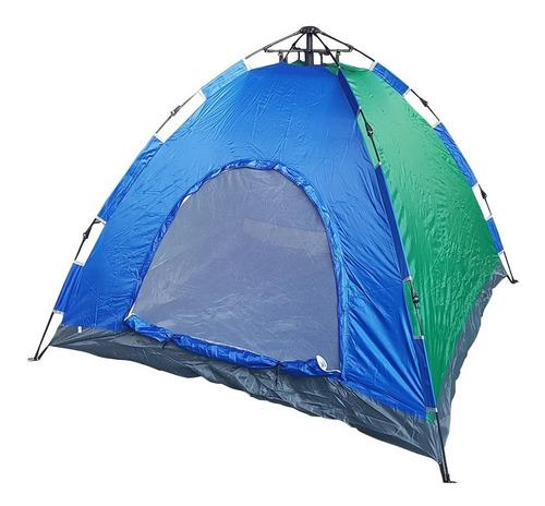 barraca para camping iglu  4 pessoas  auto montável