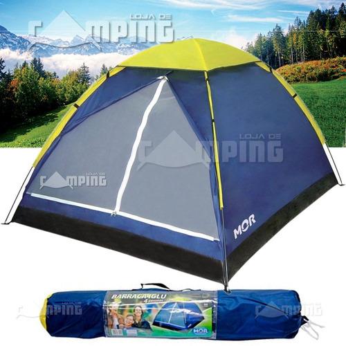 barraca pessoas camping iglu mor