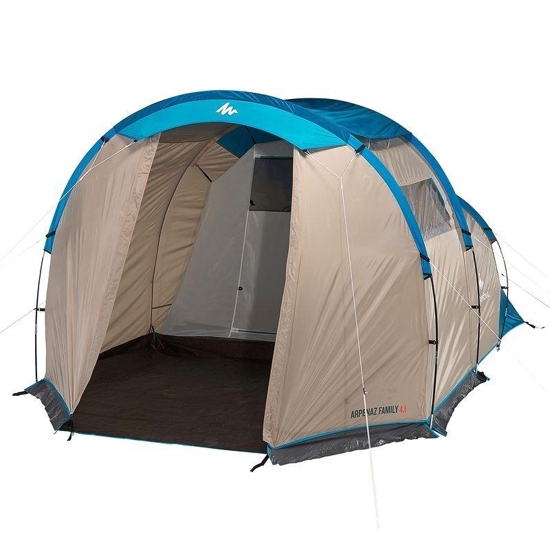 Barraca 4 pessoas arpenaz family 4 1 quechua r 799 99 for Tente decathlon 2 chambres