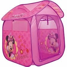 barraca portátil cabana infantil casa minnie - zippy toys